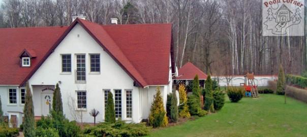 Big house with a garden